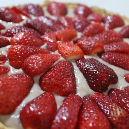 Erdbeer Cremetorte