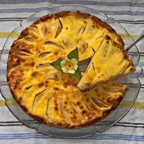 Apfel Sahne Torte selber backen